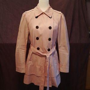 Dusty Rose Ladies Raincoat